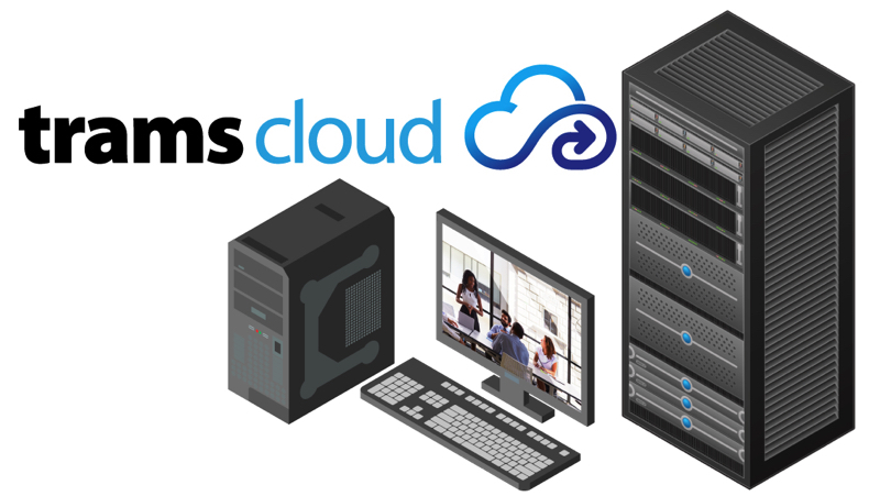 TramsCloud with equipment